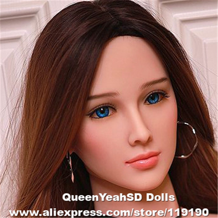 Silicone Sex Dolls Head For Lifesize Artificial Real Silicone Vagina Pussy Love Doll Adult Sexy Toys For MenSilicone Sex Dolls Head For Lifesize Artificial Real Silicone Vagina Pussy Love Doll Adult Sexy Toys For Men