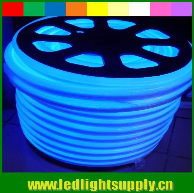 blue neon light flex