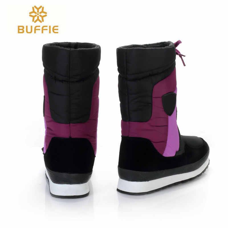 Su geçirmez Membran Kadın botları kış kar botları Boyutu 33 büyük boy 38 sıcak kışlık Botlar moda bayan botları sıcak yüksek ayakkabı