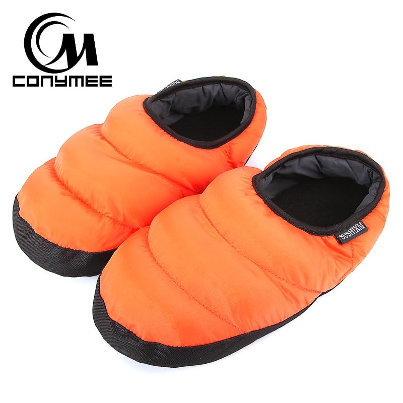 Winter Fur Slippers Woman Down-cotton Indoor Shoes Pantufa Men Women Casual Home Sneakers Warm Slipper Big Size Shoe Terlik 1