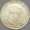 1761 Austrian States SALZBURG 1 Thaler Sigmund III %90 Silver Copy Coins