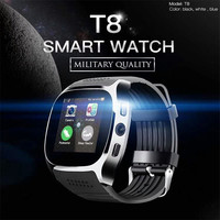 Bluetooth T8 Smart Watch With Camera Bluetooth WristWatch For IOS Android Men Momen Smartwatch VS X6