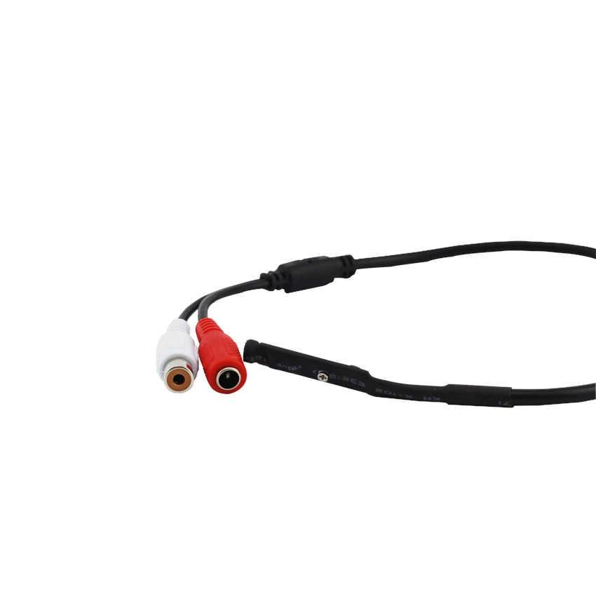 4 шт./лот RCA наблюдения CCTV Микрофон звуковой монитор Звук Палочки-up звукового сигнала и голоса, Палочки устройство для безопасности Камера