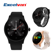 Excelvan K88S Heart Rate Smart Watch Clock Sync Notifier Support Sim Card Bluetooth For Samsung Android Phone Smartwatch Watch