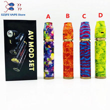 e-cigarette Avidlyfe Mod Kit Avid lyfe AV Twistgyre Mod 18650 battery Vape pen aluminum Mechanical Mods kit VS Kennedy 25 mod electronic cigarette jsld 80w kit vape built in 2000mah battery box mod large smoke steam vape kit vs txw 80w vape e cigarette