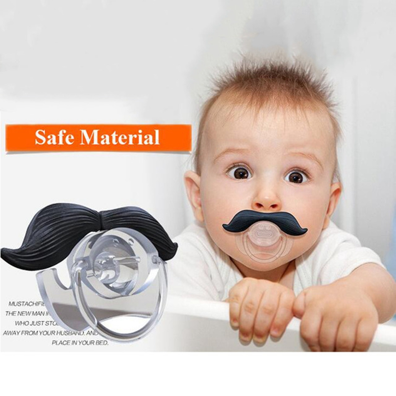 Funny Baby Pacifiers Dummy Nipple Teether Toddler Food Grade Silicone Pacy Orthodontic Soother Teat For Baby Pacifier