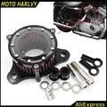 100% de Alta calidad CNC Motocicleta Filtro Aire Para Harley Davidson Sportster XL 883 1200 2004-2014 Scooter A11