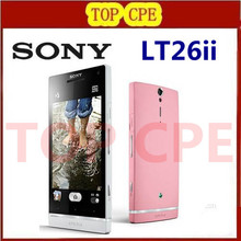 Original LT26ii Mobile Phone Sony Ericsson Xperia SL LT26ii Android 4.3 inches Dual-core 3G GPS Wifi 12MP 32GB Free Shipping