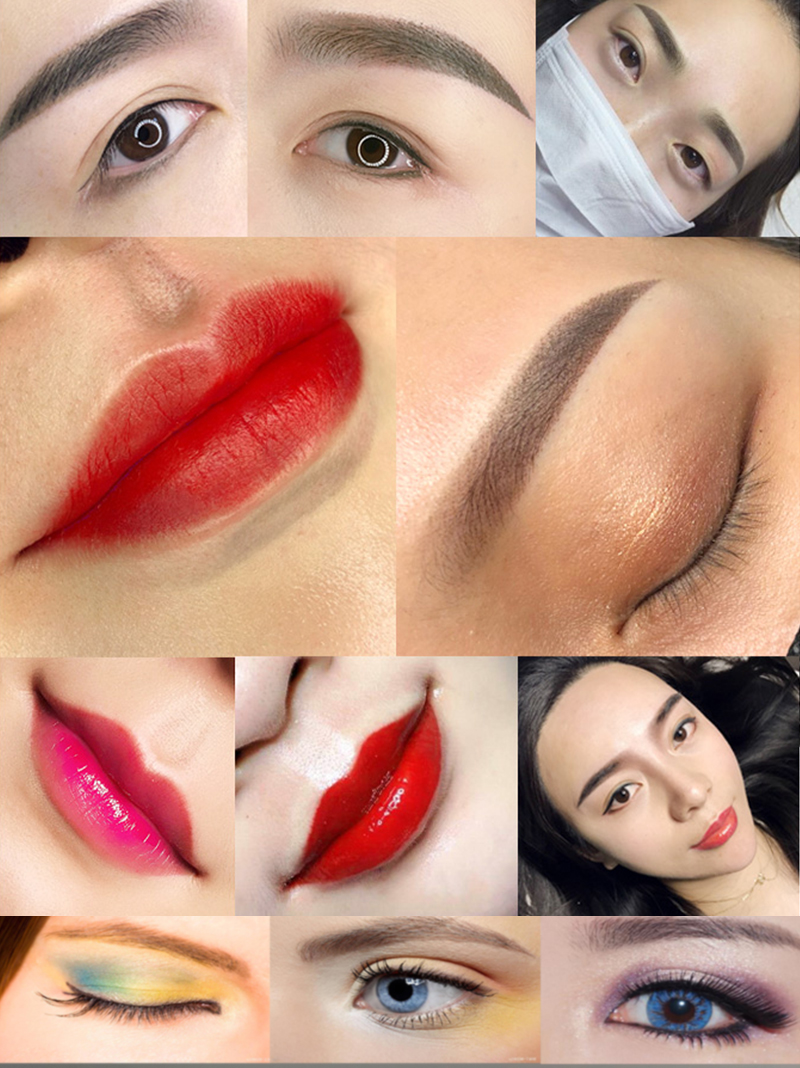 NEW GOOCHTF PCD Microblading Pigment Permanent Makeup Eyebrow and Lip Dark COFFEE Tattoo INK Makeup beauty Tool _01