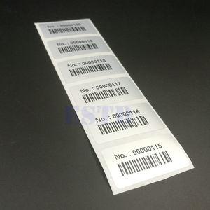"""Image 3 - 1000 etiquetas, 1,57 """"x 0,78"""", 40x20mm, números de serie y códigos de barras, pegatinas de inventario"""
