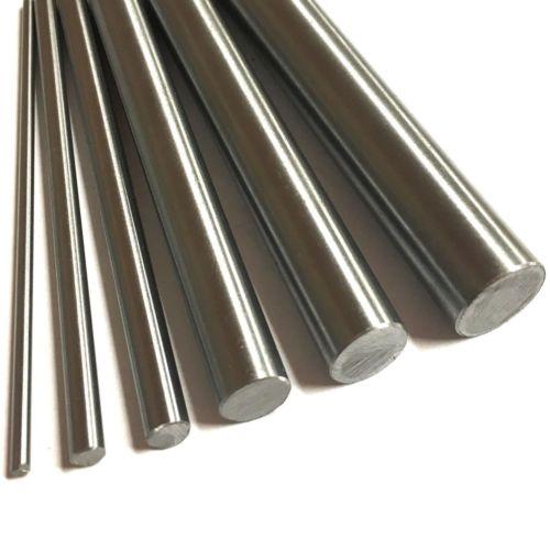 1 pcs ss barra haste 8mm 7mm 10mm 12mm haste do eixo haste métrica 316 barra redonda de aço inoxidável chão 600mm comprimento