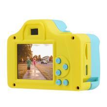 VKTECH 1.77Inch 32GB Full Color Mini LSR Digital Camera Kids Baby Cartoon Camcorder Video Recorder Support TF Card 4640*3680
