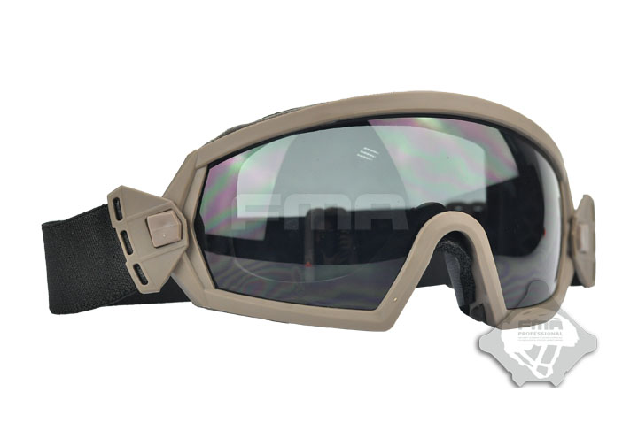 Free Shipping FMA Regulator Goggle LPG01BK12-2R Wargame Protector Eyeglasses Airsoft Safety Windproof Dustproof Hunting Gear