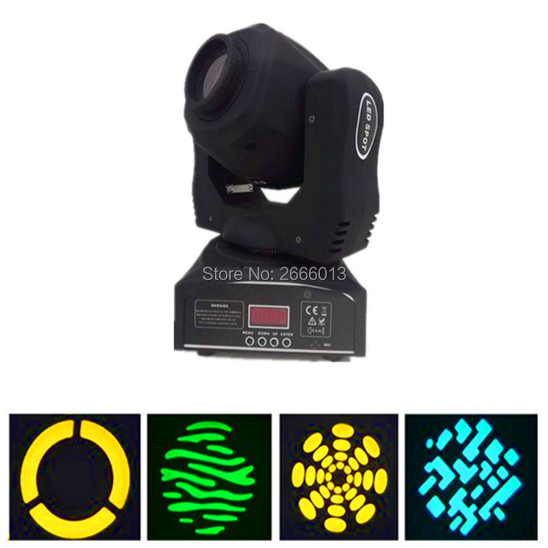 2pcs/lot LED 60W Gobos Moving Head Stage Effect Light/DMX Channels LED Spots Lighting/KTV DJ Party Lights/60W LED Patterns Light spot 60w dj led moving head light disco lamp beam gobos dmx music party lights channels professional led stage lighting effect
