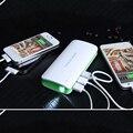 Для fly powerbank 10000 мАч 3 USB Power bank Внешняя батарея для Xiaomi iPhone 6 6 s plus батарея Резервного Копирования для всех телефоны