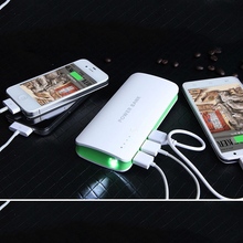 For fly powerbank 10000mah 3 USB Power bank External battery For Xiaomi iPhone 6 6s plus Backup battery for all phones