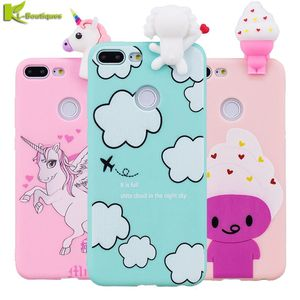 Huawei P20 Lite Case on for Huawei Honor 9 Lite 7A 7C Mate 20 10 Lite Nova3i Y5 Y6 Y7 2018 Cover 3D Cartoon Toys Soft Phone Case()