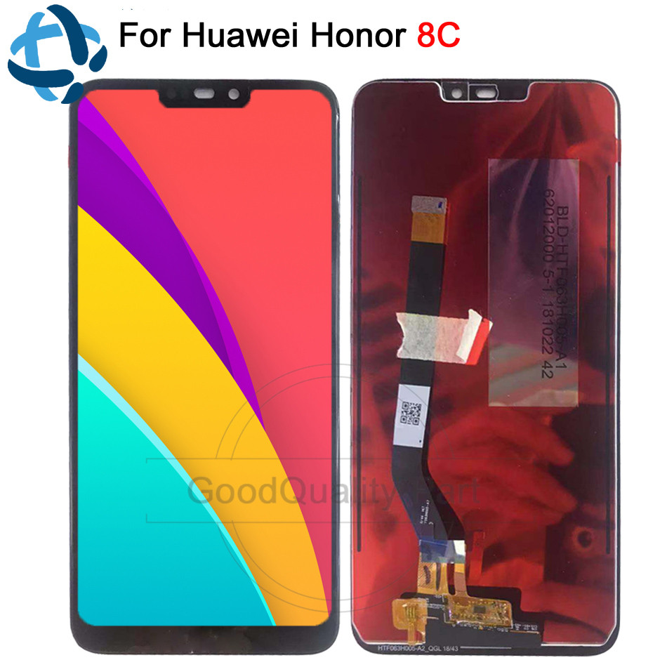 6 26 New lcd For Huawei Honor 8C Display Touch Screen Digitizer Assembly For Huawei Honor