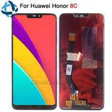 6,26 »Новый ЖК-дисплей для huawei Honor 8C дисплей сенсорный экран дигитайзер сборка для huawei Honor Paly 8C BKK-AL10 ЖК-замена