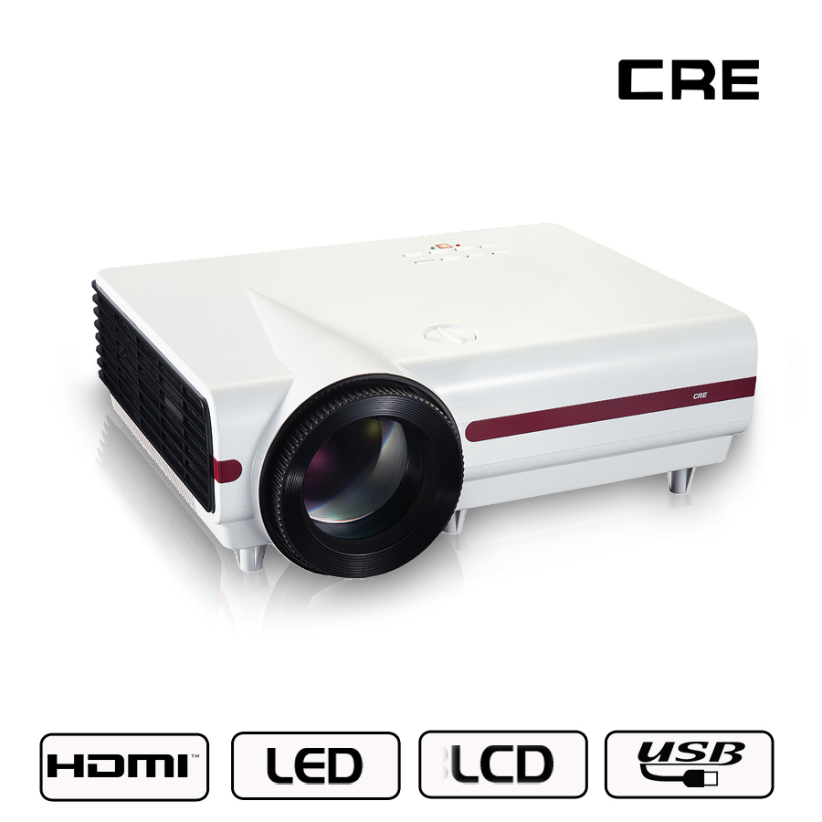 Giantex Best Hd Home Theater Multimedia Lcd Led Projector: Best Portable Projector 1080p Via HDMI 2800 Lumens