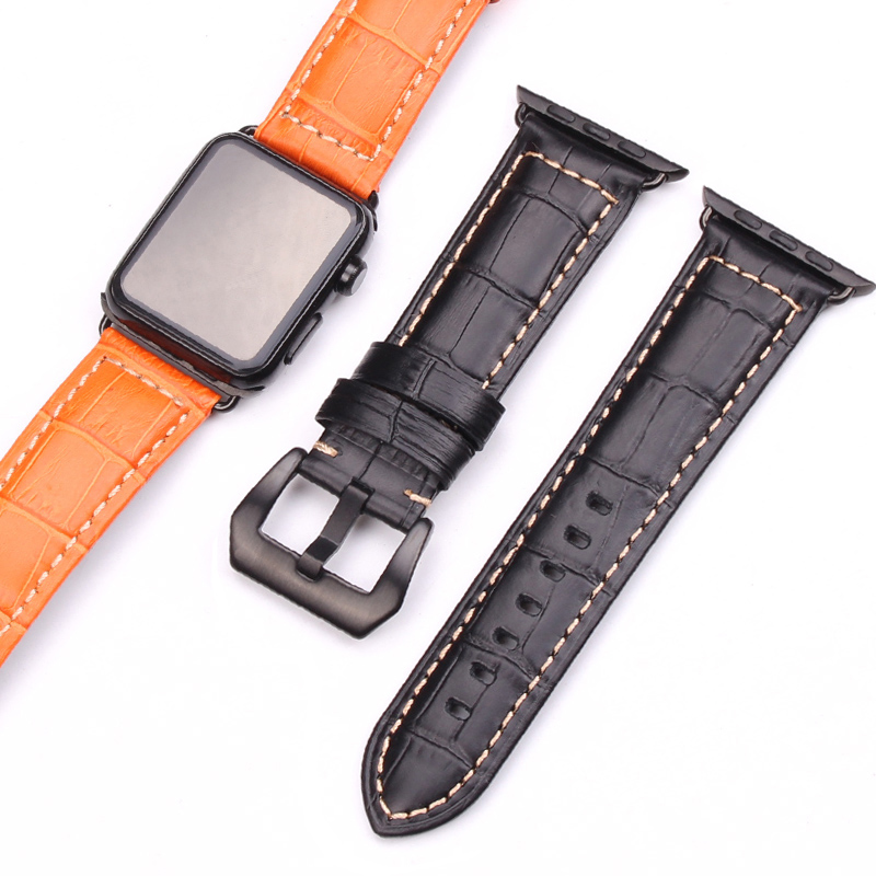 Cowhide Genuine Leather Watchbands 3 Colors For Apple Watch Band Women Men Watches Strap 42mm 38mm Wristband With Adapter разветвитель разветвитель прикуривателя на 3 гнезда и 1 usb выход airline asp 3u 07