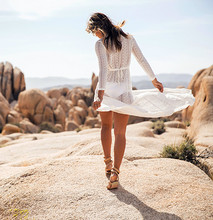 Long Lace Cover Up