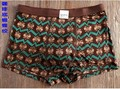 Sexy 100% calças calças dos homens de seda de seda de malha underwear underwear antibacteriana 10 impressão de cor 3