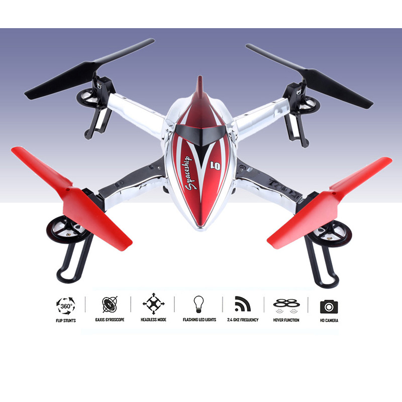 WLtoys RC Drones Dron With Camera WiFi 2.4G 4CH 6-Axis Gyro RTF Drones Quadcopters RC Flying Helicopter Hold Altitude Mode Toy wltoys q222 quadrocopter 2 4g 4ch 6 axis 3d headless mode aircraft drone radio control helicopter rc dron vs x5sw