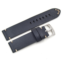 18 19 20 21 22mm Retro handcraft High Quality straps Genuine Leather Watch bands for Omega Seiko Tissot Mido Straps +tool