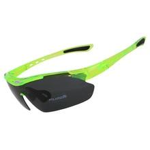 Professional Polarized Cycling Glasses Bike Goggles Running Fishing Sun Glasses UV Protect Mountain Road Bicycle MTB Sunglasses