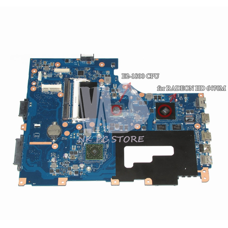 Main Board For Gateway NE71B NE71B06u Notebook PC Motherboard Pegatron EG70 EG70BZ DDR3 HD 6470M Discrete Graphcis eg70 eg70bz rev 2 0 for gateway ne71b ne71b06u laptop motherboard e2 1800 cpu ddr3