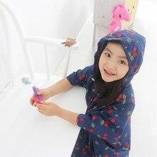 BF040 fashion leisure rain coat Cherry poncho thickened raincoat child 90*60cm 80*47cm free shipping