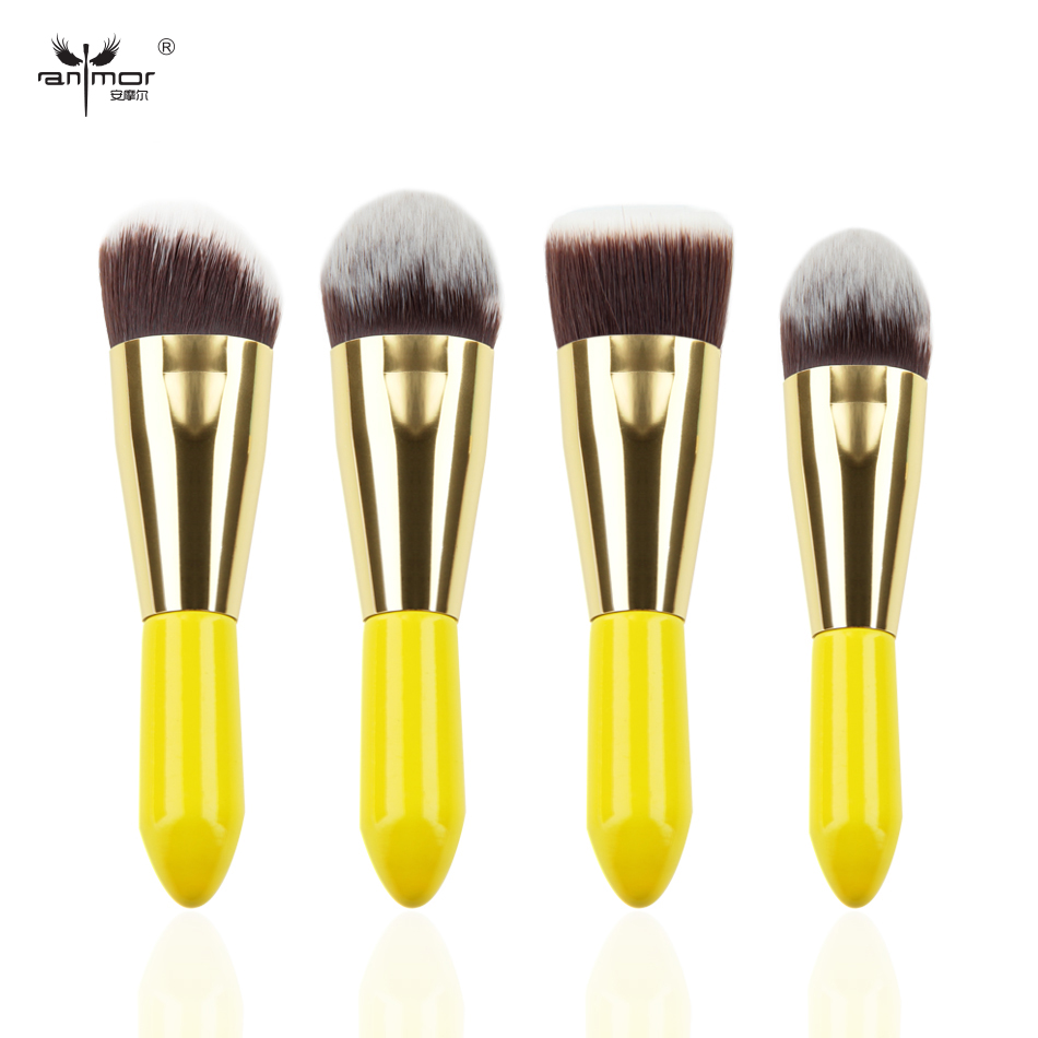 4 Pieces Makeup Brush Set Soft Face Make Up Brushes Beauty Cosmetic Makeup Brushes free shipping durable 32pcs soft makeup brushes professional cosmetic make up brush set