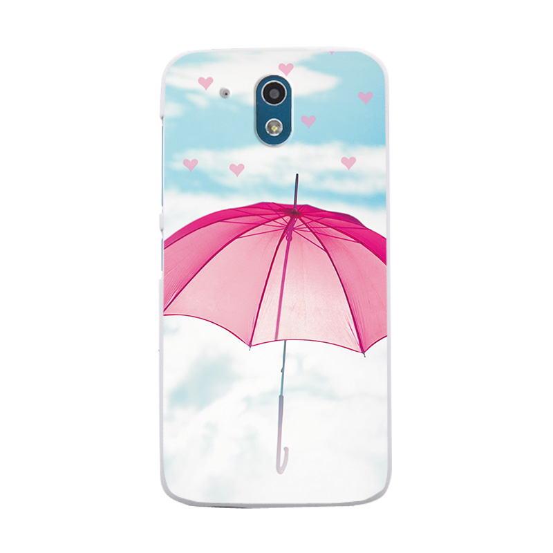 Silicone Case Cover For HTC 526 Love Heart Phone Bags 2