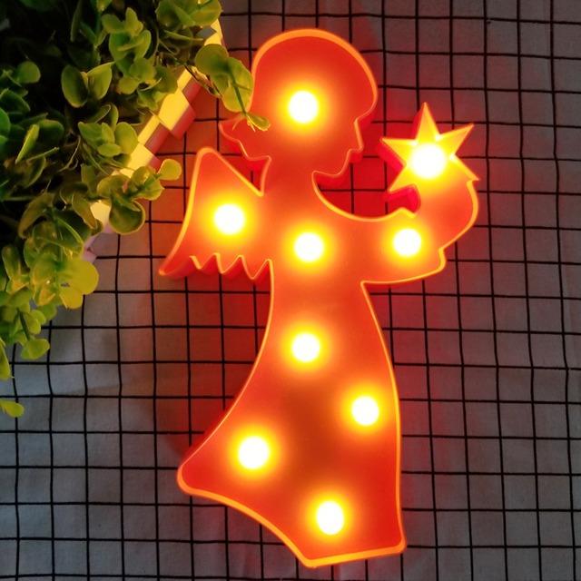 Angel Shaped Night Light