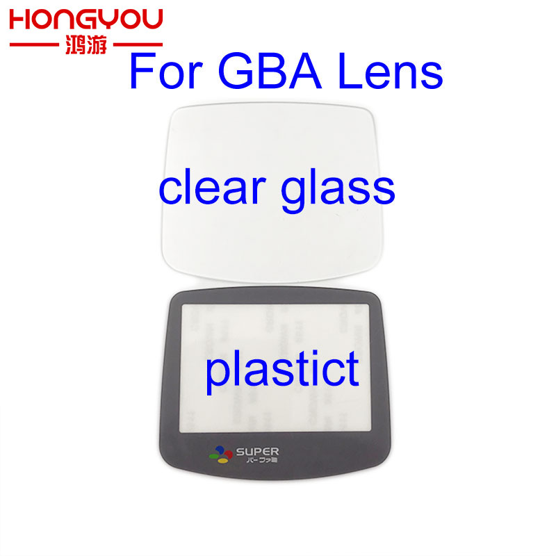 Replacement for Super famicom Screen Lens cover For Gameboy Advance glass lens for GBA Plastic lens Glass lens Protector glass lens for flashlights 18mm 10 pack