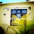 YP80200 80x200 cm policarbonato toldo 31.5x79in, janela e da porta da copa, decoração do jardim do toldo, toldos de policarbonato