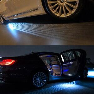 Image 5 - Okeen 천사 날개 led 자동차 도어 라이트 화이트 블루 레드 그린 컬러 프로젝터 ange led 카펫 웅덩이 라이트 언더 글로우 모든 자동차에 적합