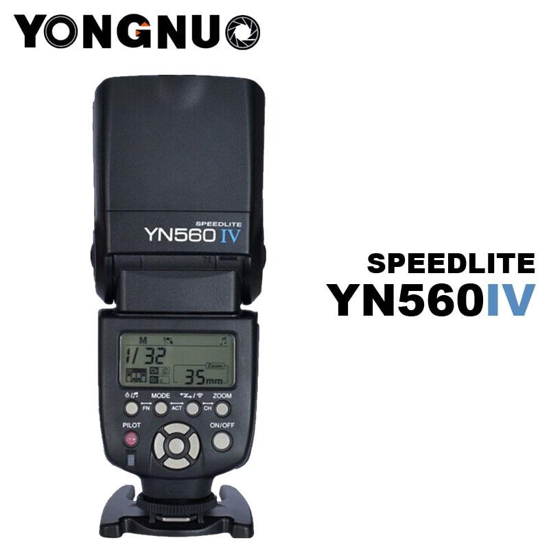 YONGNUO YN-560IV YN560 IV Flash Speedlite for Nikon D700 D7200 D7100 D7000 D5300 D5200 D5100 D5000 D3100 D3200 D3000 D90 D80 D70 yongnuo yn 568ex yn 568 ex wireless slave ttl flash speedlite for nikon d7100 d7000 d5200 d5100 d5000 d3200 d3100