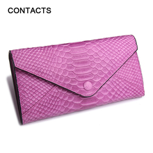 Famous Brand Luxury Genuine Leather Women Wallets  Pattern Designer Clutch  Female Purse  Ladies Card Holder Money Purses