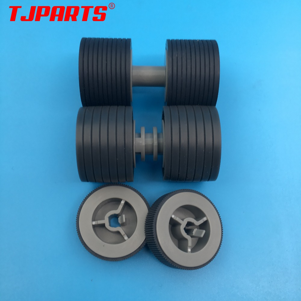 PA03575-K011 PA03575-K012 PA03575-K013 Pick Roller Set Brake Roller Separator Roller Tire Rubber for Fujitsu fi-6400 fi-6800PA03575-K011 PA03575-K012 PA03575-K013 Pick Roller Set Brake Roller Separator Roller Tire Rubber for Fujitsu fi-6400 fi-6800