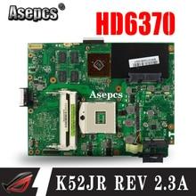 Asepcs K52JR REV2.3A материнская плата для ноутбука ASUS K52JU K52JT K52JB K52JE K52J A52J X52J Тесты Оригинал материнская плата HD6370 512 М