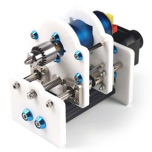 Image 2 - Soporte de módulo láser eje Z y eje Motor Z, Kits de eje Z, conjunto integrado de piezas de taladro, Kit de actualización DIY para grabador láser CNC Router