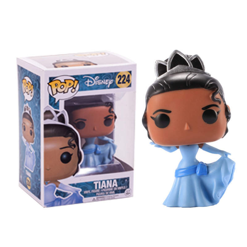 Funko-pop-Princess-doll-Belle-Cinderella-Rapunzel-Tiana-ARIEL-Vinyl-action-Figure-Collectible-Model-Toy-for (3)