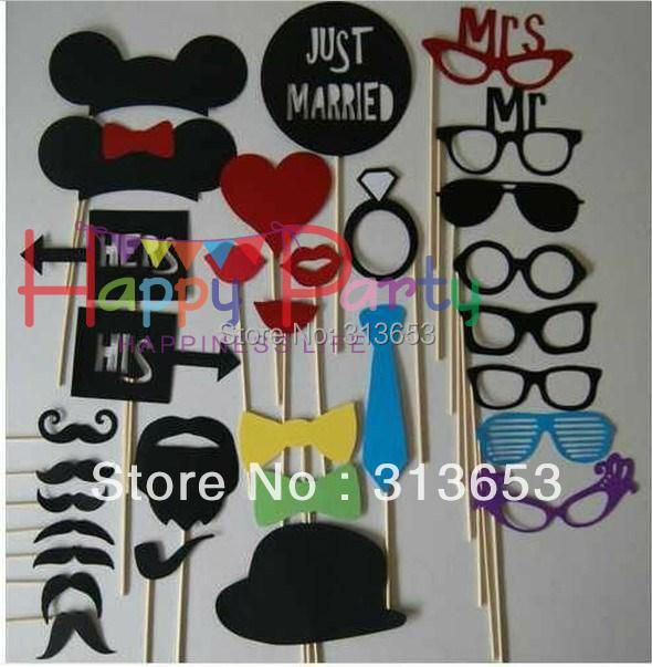DIY Funny Wedding Decoration Props/ Photography Props