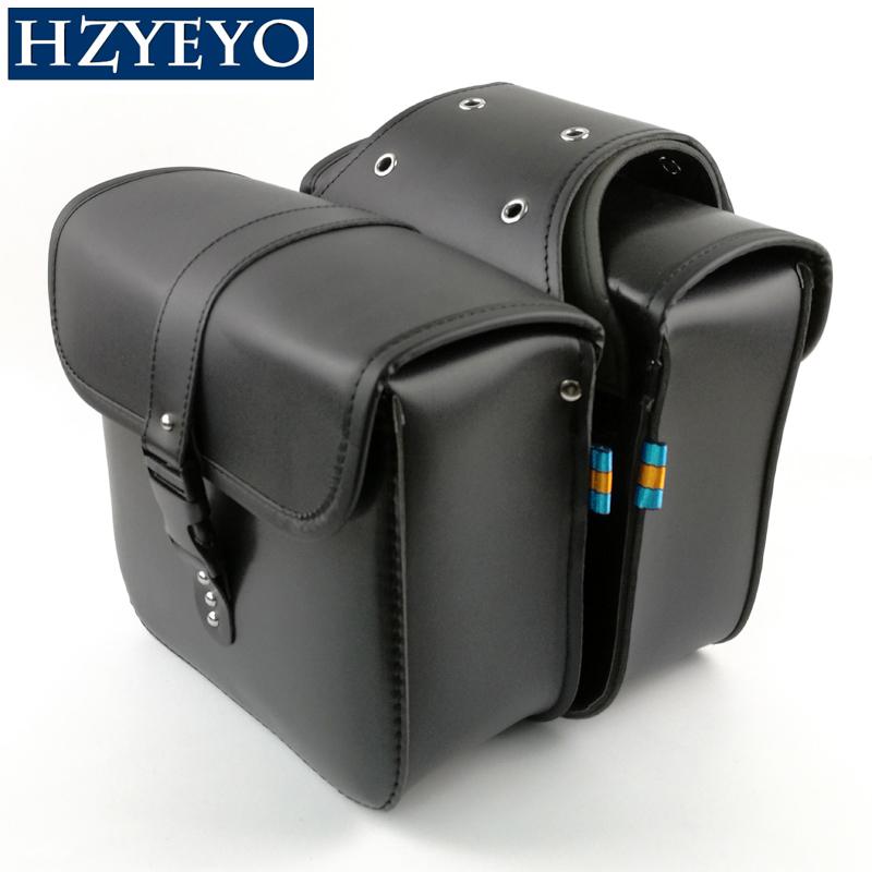 Prix pour HZYEYO Moto selle sacs sacoche Prince Regal Raptor croisière véhicule côté boîte bord moto chevalier D810