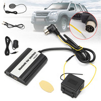 KROAK Auto Bluetooth Kits Hands Free USB SD 3 5MM AUX Car MP3 Adapter Cable Interface