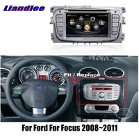 Liandlee 2din For Ford For Focus 2008~2011 Car Android Radio GPS Maps Navigation player BT WIFI HD Screen Multimedia System