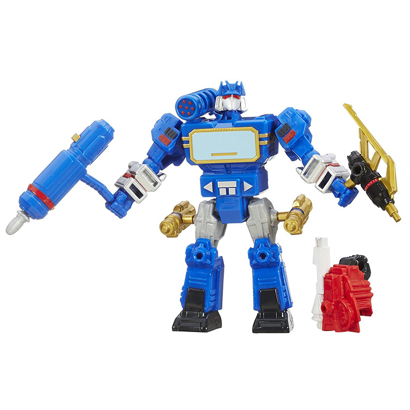 2018 Transformers Toys 15.5cm Hero Mashers Soundwave PVC Action Figure Mash up Transformer Collection Model Dolls Toy 1