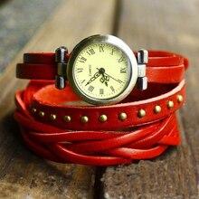 Antique Vintage Fashion Leather Strap Watch